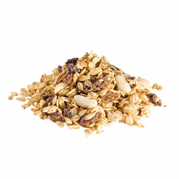 Fettfutter aus Haferflocken, tierisches Fett, ungeschwefelte Sultaninen, Erdnüsse, Mineralien